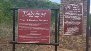 Arrived At Baknbung Bush Lodge In Pilanesberg Game Park