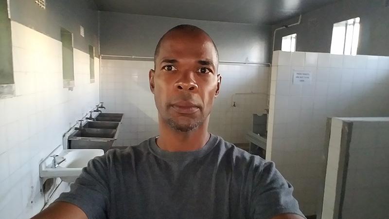 Robben Island Cell Bathroom